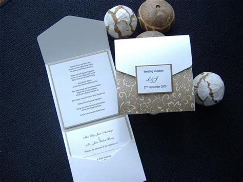 wedding invitation pocket folds uk pocketfold wedding invitations make your own wedding
