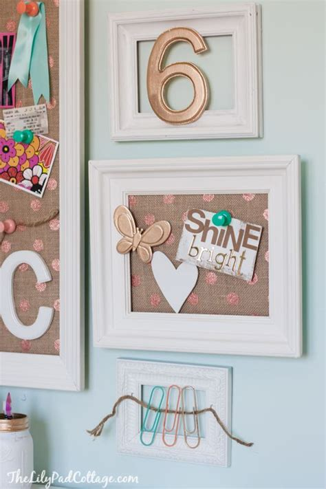 cute bulletin board ideas for bedroom vintage kids desk turned pink crafting goodness crafting