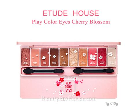 Harga Etude House Play Color Blossom box korea etude house play color cherry