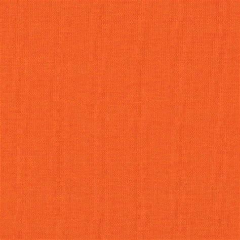orange upholstery kaufman laguna stretch jersey knit orange discount