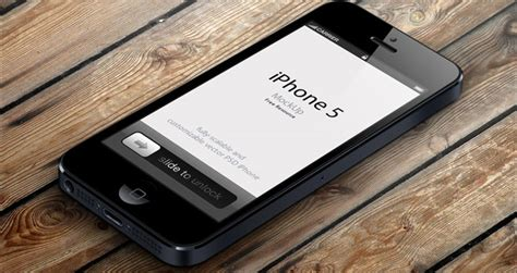 3 Iphone Mockup 3d View Iphone 5 Psd Vector Mockup Psd Mock Up Templates Pixeden