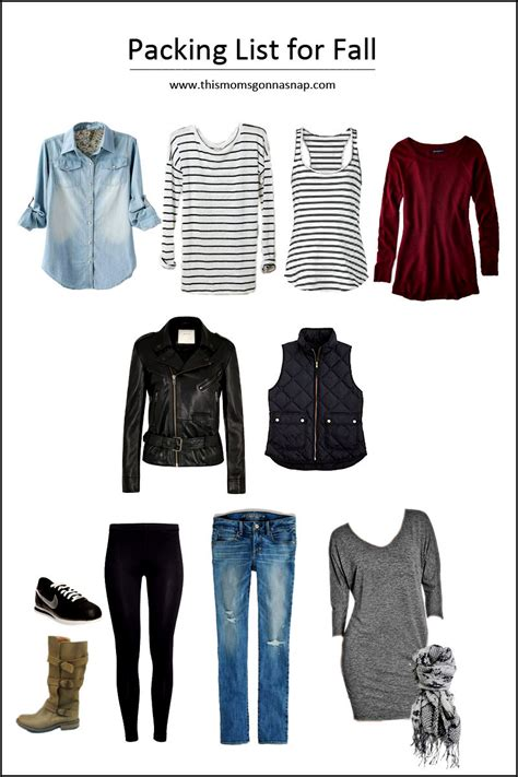 capsule wardrobe deutsch mom style minimalist packing list for autumn this mom