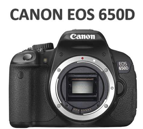 Kamera Canon Dslr 650d spesifikasi dan harga canon eos 650d teknologi terbaru