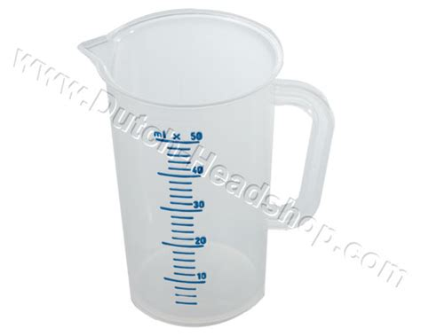 measuring cup 50ml en dutch headshop