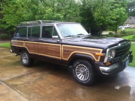 lowered jeep wagoneer purchase used 1989 jeep grand wagoneer low original