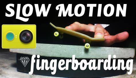 tutorial video slow motion xiaomi yi slow motion test fingerboarding xiaomi yi youtube