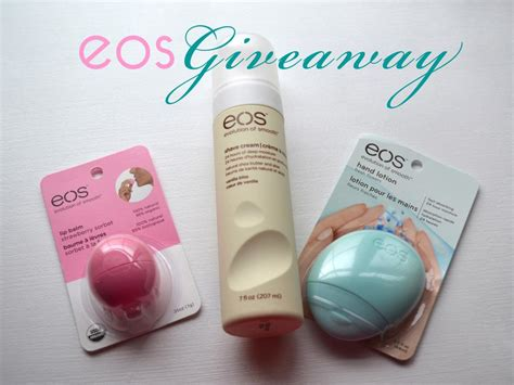Eos Giveaway - eos review giveaway short presents
