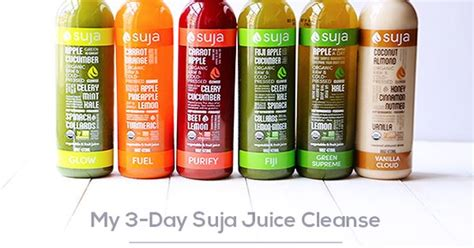 Suja One Day Detox by My 3 Day Suja Juice Cleanse Gimmesomeoven Healthy