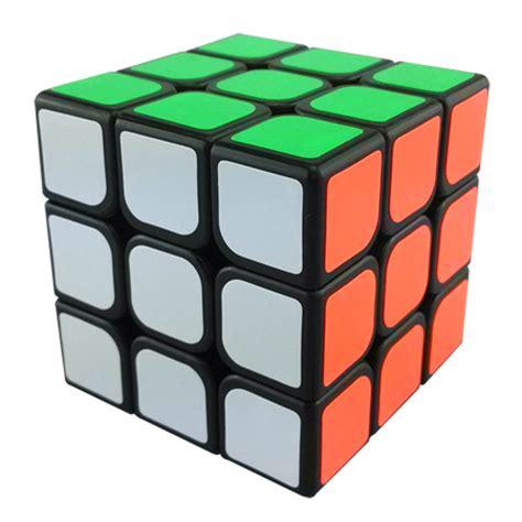 Rubik Cube 3x3x3 yj guanlong 3x3x3 magic cube black 3x3x3 cubezz