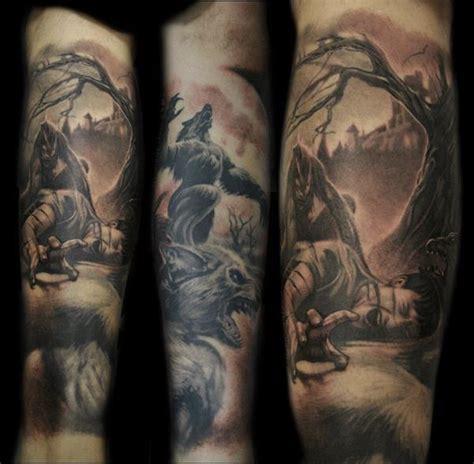 werewolf wolf tattoo on the hand view tattooimages biz