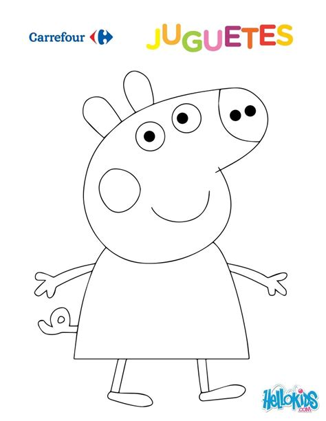 peppa pig para colorear peppa colorear new calendar template site