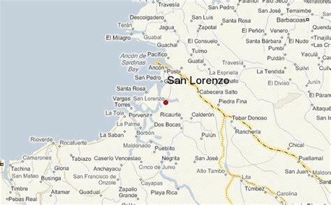san jose de minas ecuador map san lorenzo ecuador location guide