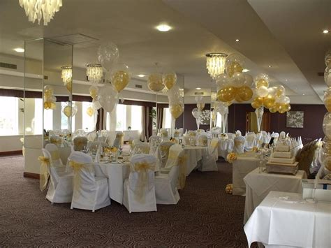 venues weve decorated balloons chair cover hire wedding wedding balloons fresh silk flowers pew end bows chair