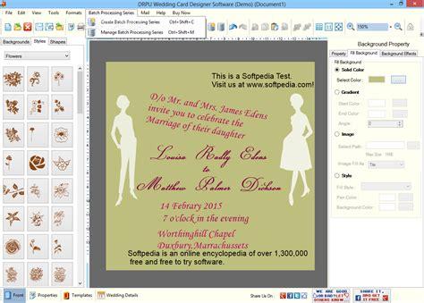 wedding card software wedding card design free software matik for