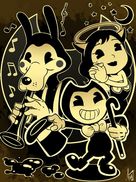 bendy   ink machine chapter  game play