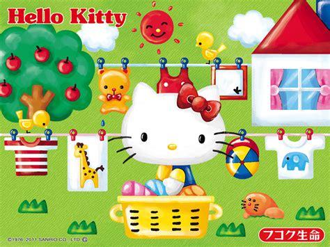 hello kitty character wallpaper sanrio characters wallpaper wallpapersafari