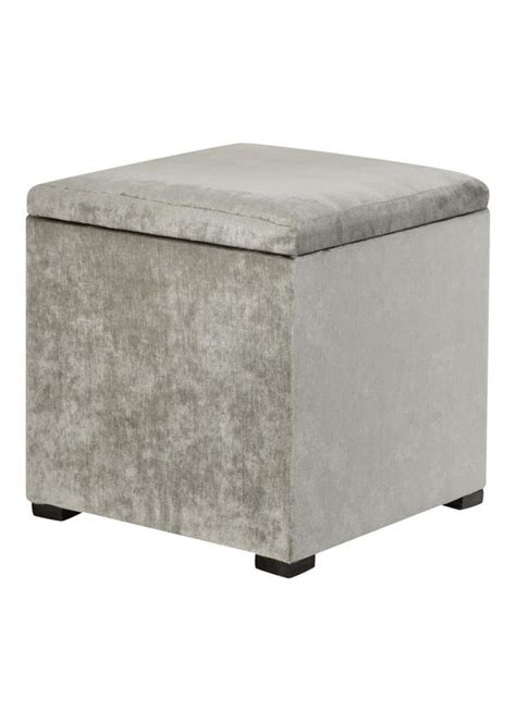 Dressing Table Stool Storage dressing mink and grey on