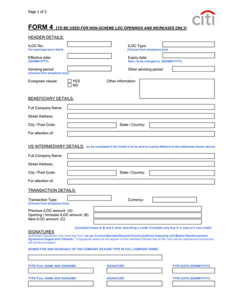 International Credit Application Form Letter Of Credit Dan Proses Pembayaranya Syaifutries S