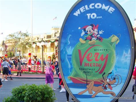 mickey very merry christmas party dates tickets and