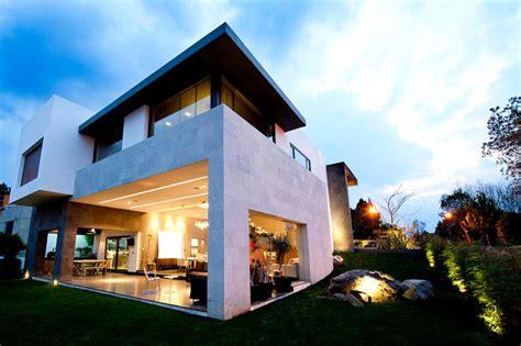 Espacio Home Design Group Casa Cubo Contemporary Exterior Mexico City By