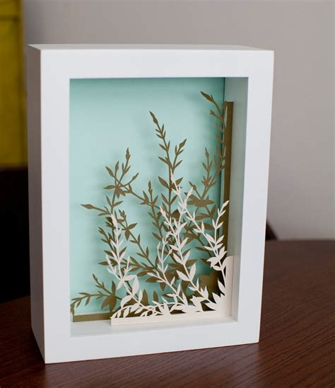 How To Make A Paper Shadow Box - pin by gilsonal on papercut