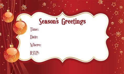 merry christmas invitation free invitations ecards greeting cards