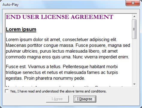 eula exles free printable documents