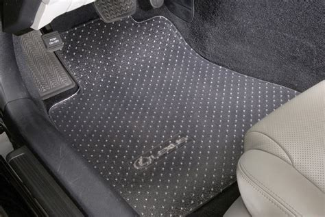 lexus rx 350 floor mats all weather clear vinyl all weather 100 custom floor mats 3pc lexus