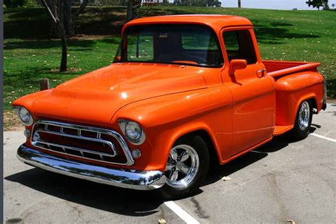 1957 chevy stepside pick up chevrolet stepside pick up pictures