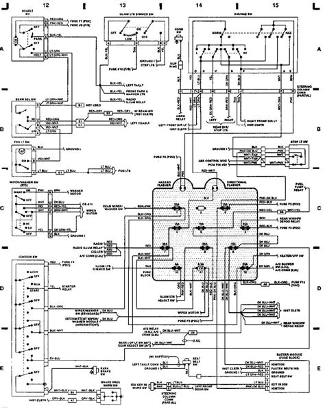 1995 jeep wrangler wiring diagram radio wiring diagram