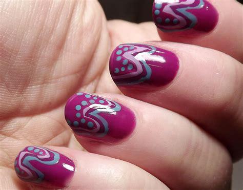 tutorial nail art dengan selotip tutorial nail art onde e pois