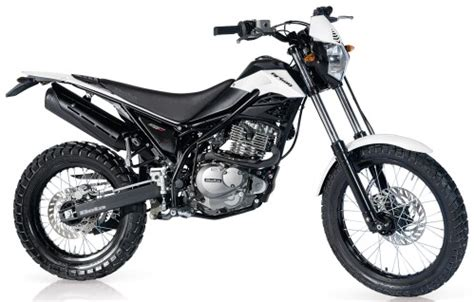 Beta Motorrad Langen by Beta 200 2010 Perlmuttweiss