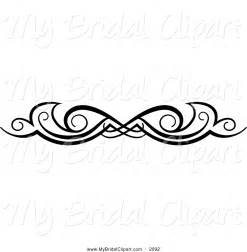 Design Black And White Pics Photos Black And White Wedding Swirl Border