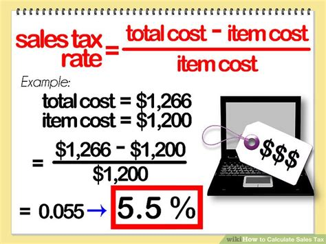 4 ways to calculate sales tax wikihow