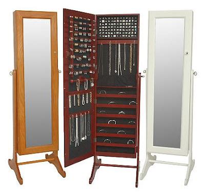 standing mirror jewelry cabinet jeri s organizing decluttering hide your jewelry