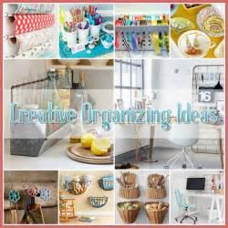 creative organizing ideas home organize house pinterest