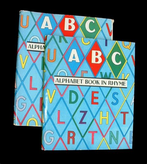 alphabet picture books abc an alphabet book in rhyme a abc book children s