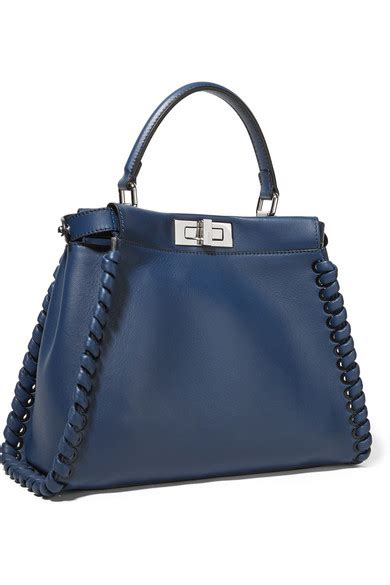 Mccarthy Whips Out The Fendi Again by Fendi Peekaboo Medium Whipstitched Leather Tote Net A