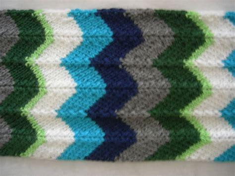 chevron knitting pattern chevron scarf knitting pattern a knitting