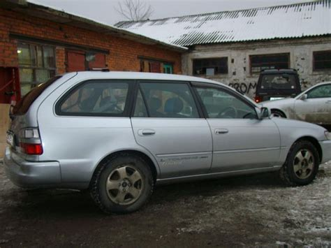 Toyota Corolla 1997 For Sale 1997 Toyota Corolla Wagon Pictures For Sale