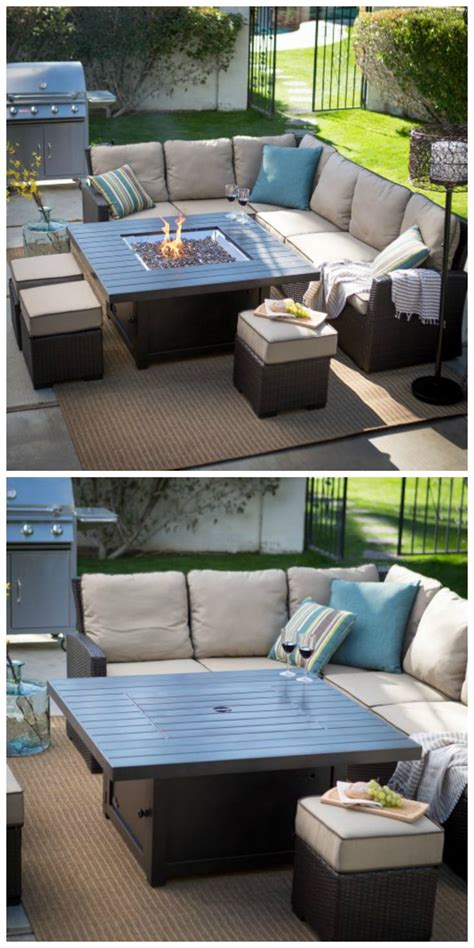 deck pit table 25 best ideas about pit table on outdoor