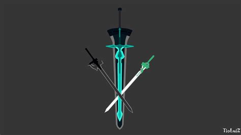 kirito wallpaper hd android kirito swords wallpaper sword art online update 4k by