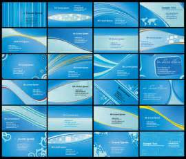 free business card backgrounds 9 blue vector business cards images blue business card