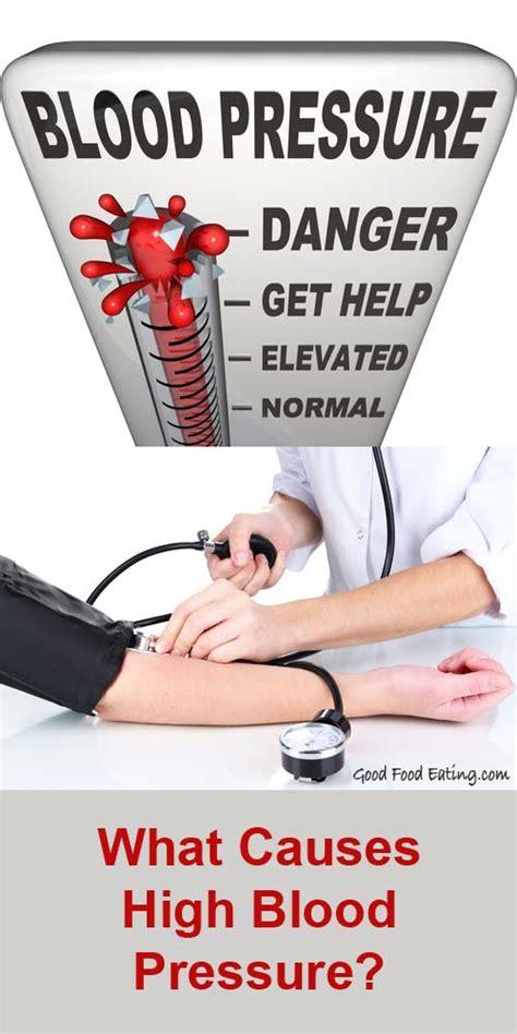blood pressure swings causes what causes high blood pressure
