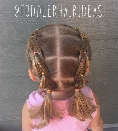 amazing braided pigtail styles  girls