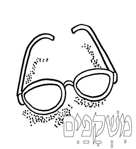 coloring page sunglasses free coloring pages of the sun glasses
