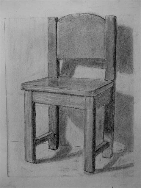 stuhl zeichnung bild stuhl schatten zeichnung bleistiftzeichnung