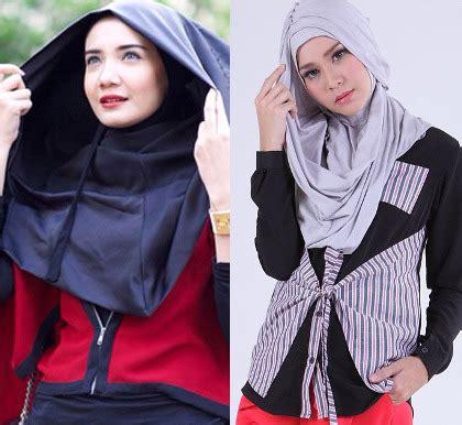 Jilbab Instan Anti Ribet Praktis kenali 5 jenis jilbab praktis bergo hingga hoodie instan