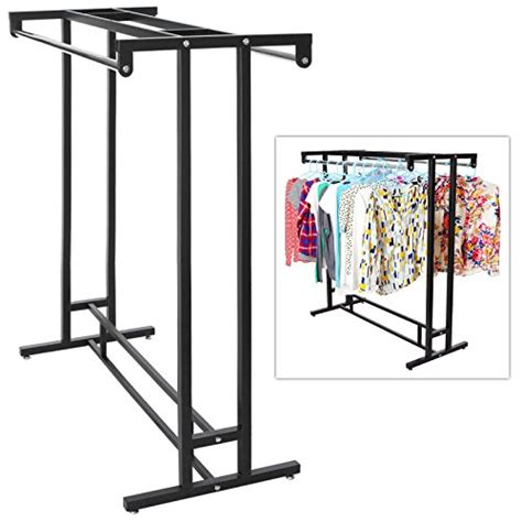 Store Rack Price Stainless Steel Rod Hangrail Department Store Style
