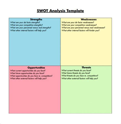 Swot Report Exle